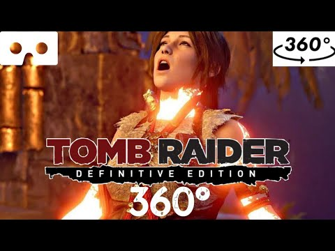 SHADOW OF THE TOMB RAIDER 360° // VR 360° Virtual Reality Experience