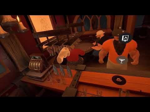 Taphouse VR, Virtual Reality Barkeeping / Bartending. This was way more fun than I thought!!